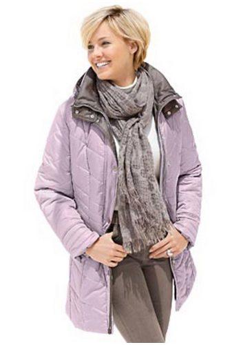 Damen Collection L. Fashion Attraktiv gesteppte Jacke rosa | 04038968583125