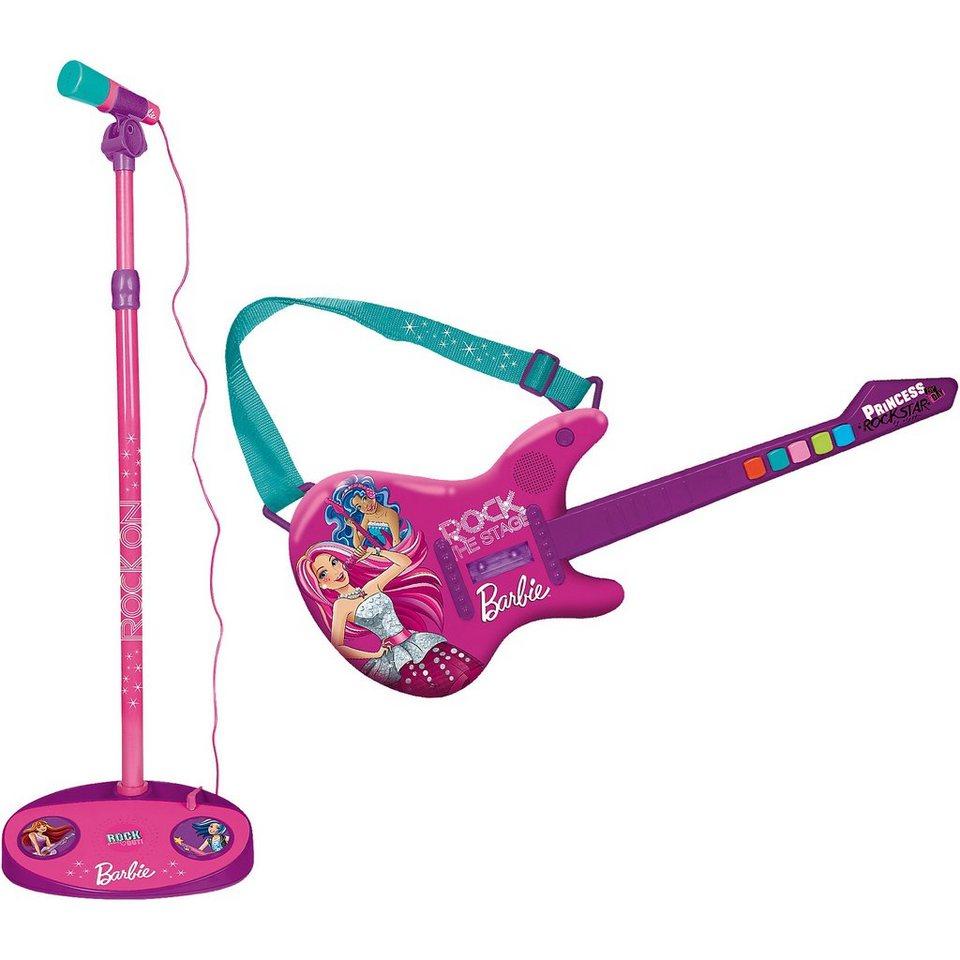 IMC Toys Barbie Elektr. Gitarre & Mikrofon NEU