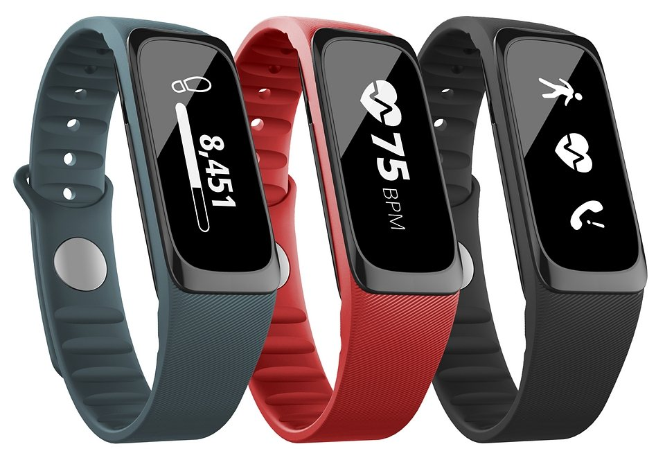 Striiv Activity Tracker, »Fusion Bio« in schwarz-rot-blau