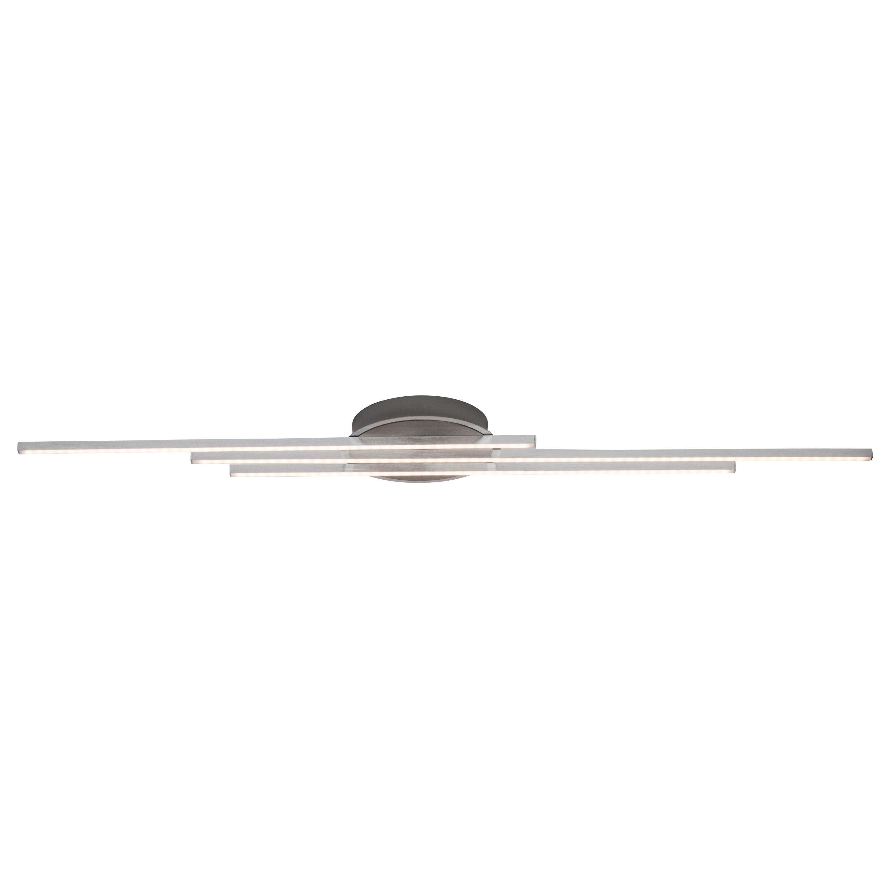 Brilliant Leuchten LED-Wand- und Deckenleuchte, inkl. LED-Leuchtmittel, 3 flammig