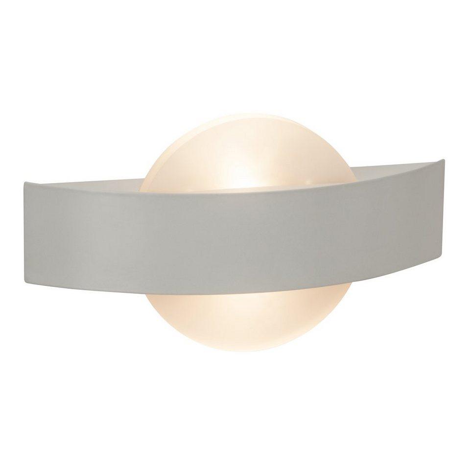 Brilliant Leuchten LED-Wandleuchte, inkl. LED-Leuchtmittel, 2 flammig in chromfarben, weiß