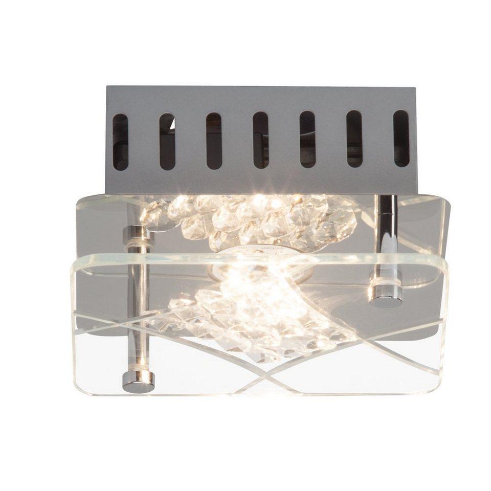 Brilliant Leuchten LED-Deckenleuchte, inkl. LED-Leuchtmittel, 1 flammig in chromfarben