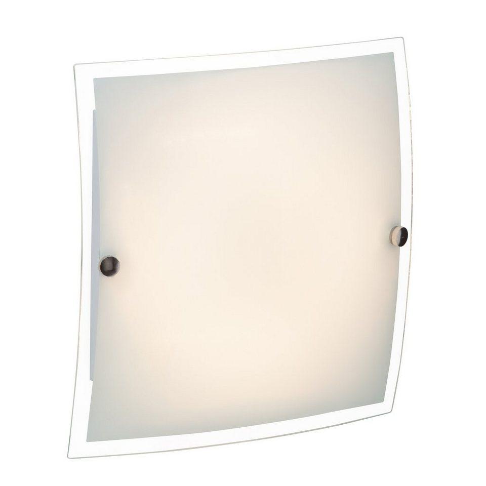Brilliant Leuchten LED-Wand- und Deckenleuchte, inkl. LED-Leuchtmittel, 1 flammig in chromfarben, weiß