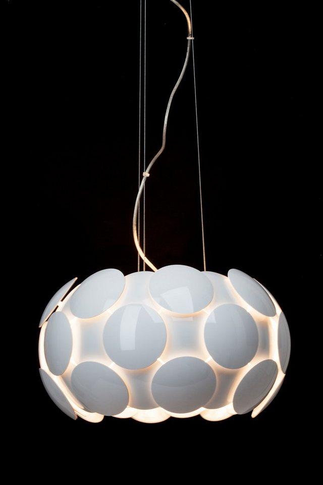 Brilliant Leuchten Pendelleuchte, 5 flammig, ohne Leuchtmittel in weiß/weiß