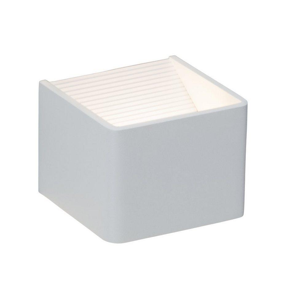 Brilliant Leuchten LED-Wandleuchte, inkl. LED-Leuchtmittel, 1 flammig in alufarben
