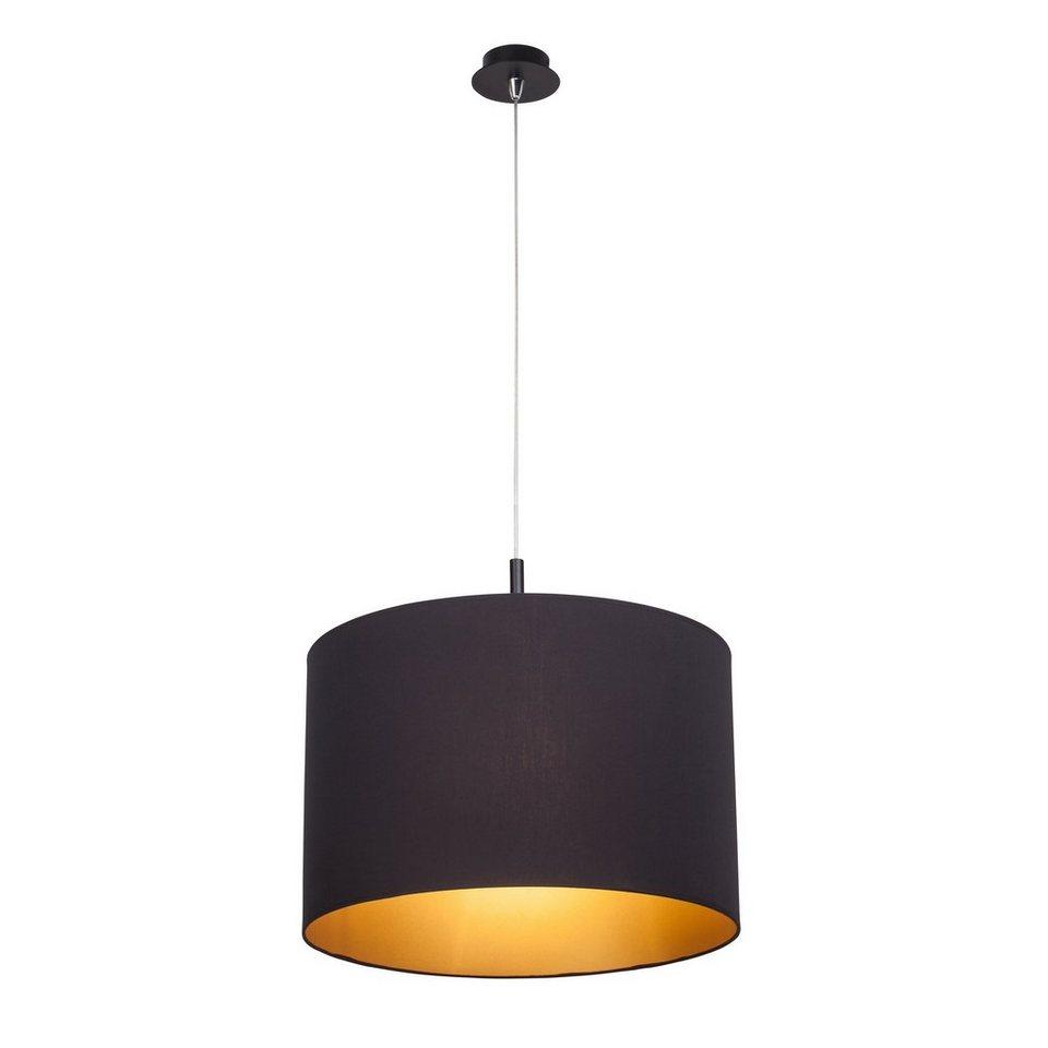 Brilliant Leuchten Pendelleuchte, 3 flammig, ohne Leuchtmittel in schwarz/goldfarben