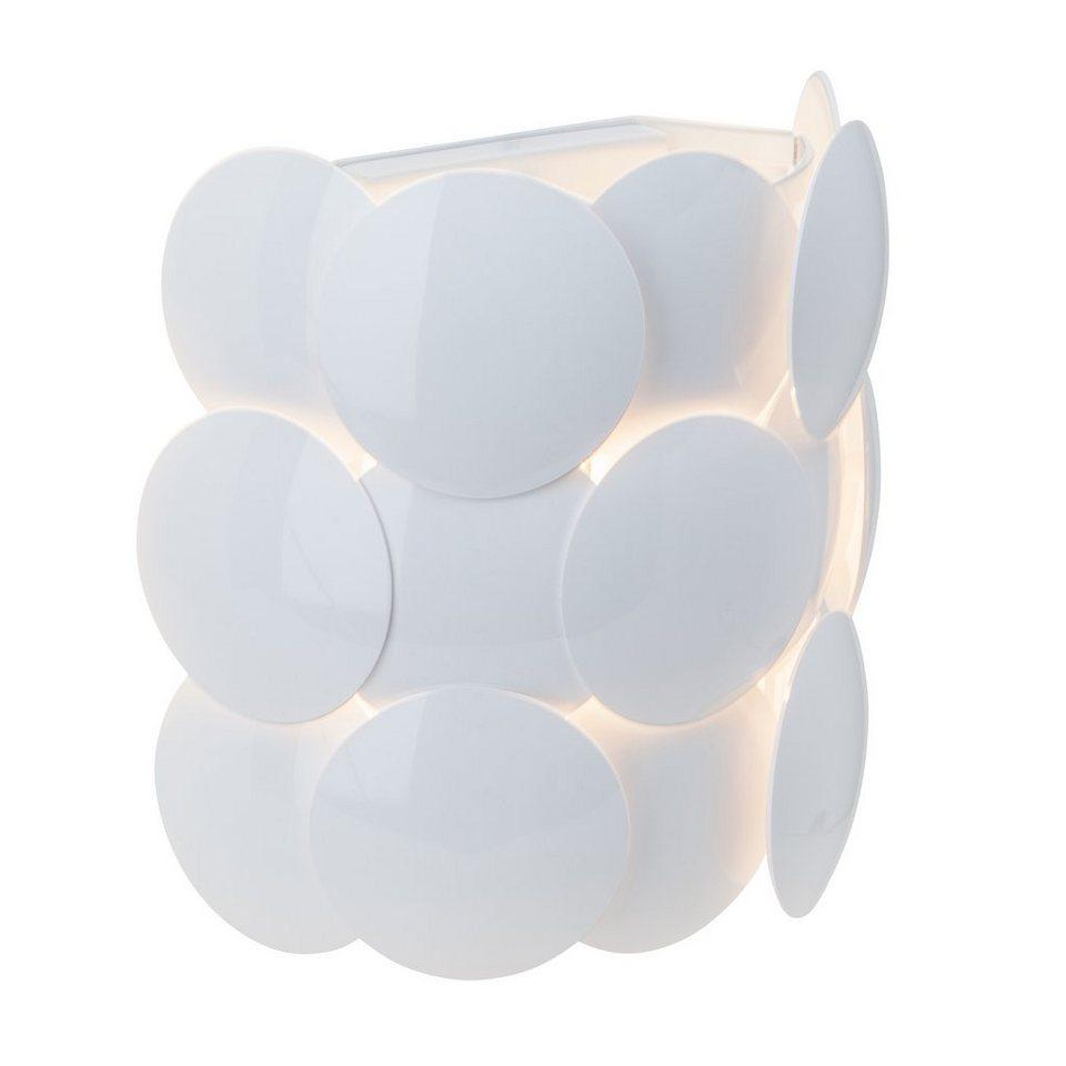Brilliant Leuchten Wandleuchte, 1 flammig, ohne Leuchtmittel in weiß/weiß