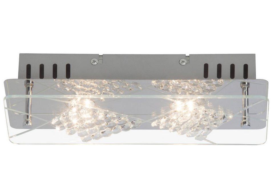 Brilliant Leuchten LED-Deckenleuchte, inkl. LED-Leuchtmittel, 2 flammig in chromfarben