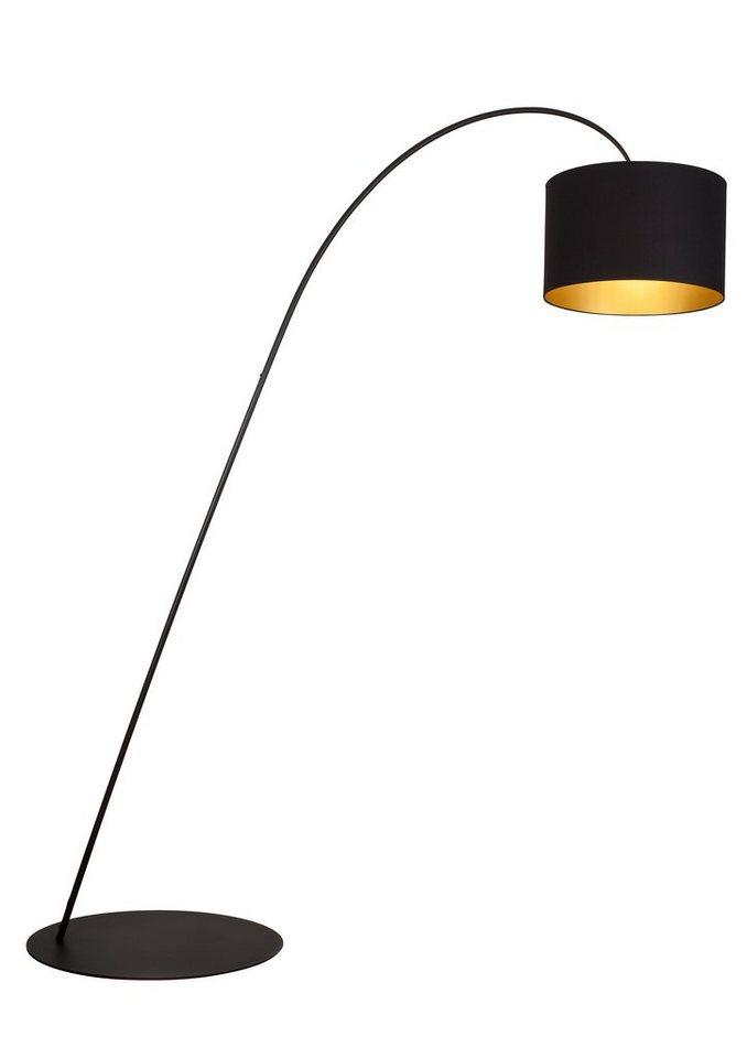 Brilliant Leuchten Stehleuchte, 3 flammig, ohne Leuchtmittel in schwarz/goldfarben