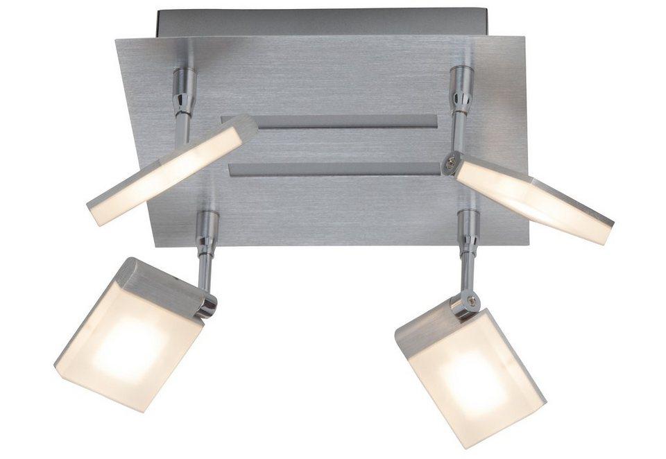 Brilliant Leuchten Deckenleuchte, inkl. LED-Leuchtmittel, 4 flammig in chromfarben