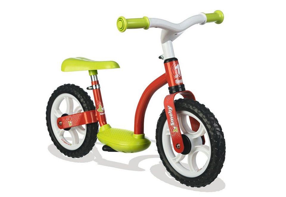 Smoby Laufrad für Kinder in rot-grün