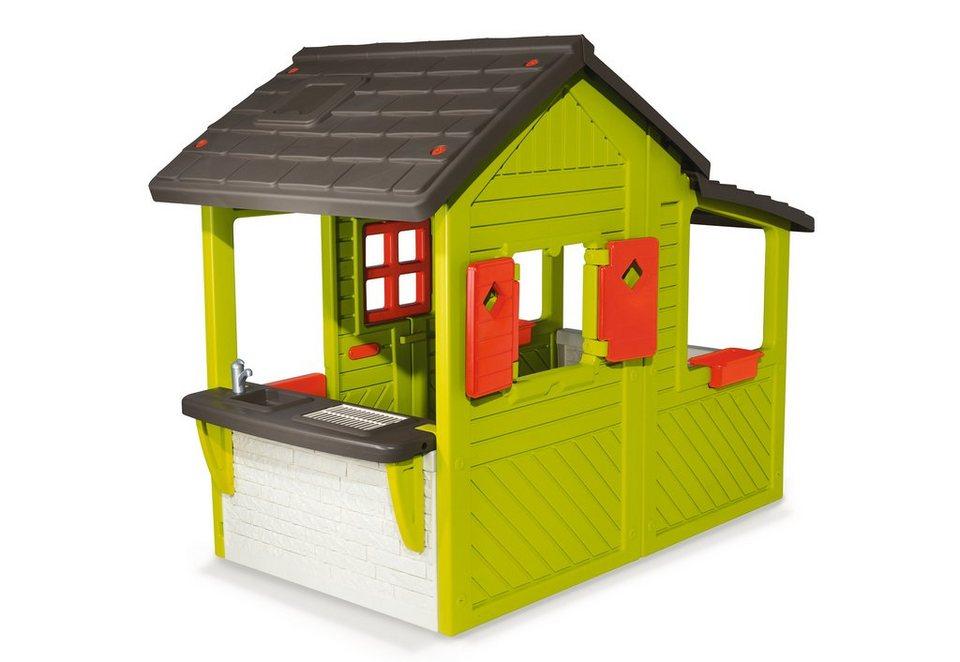 smoby spielhaus neo floralie haus online kaufen otto. Black Bedroom Furniture Sets. Home Design Ideas