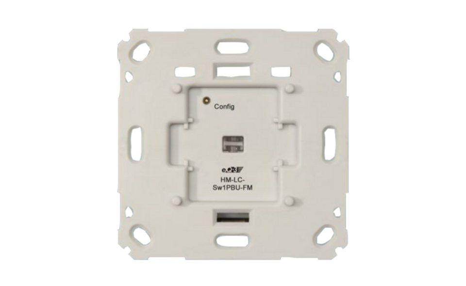 eQ-3 Smart Home Zubehör »Unterputzschaltaktor für Markenschalter« in Weiß