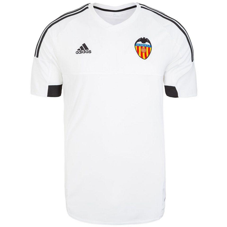 adidas Performance FC Valencia Trikot Home 2015/2016 Herren in weiß / schwarz