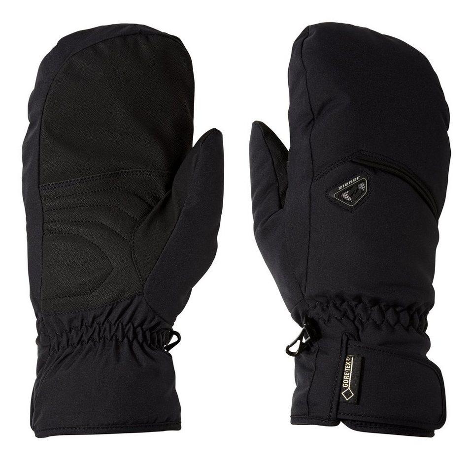 Ziener Handschuh »GONZEN GTX(R)+Gore warm MITTEN glov« in black/black