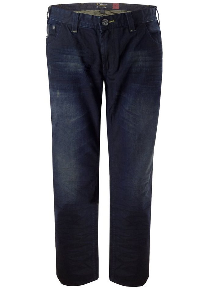 replika Jeans in Blue Used Wash