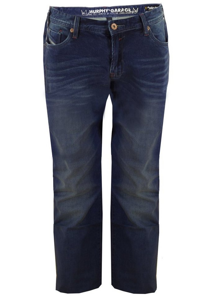 "replika Jeans 34"" in Blue Used Wash"