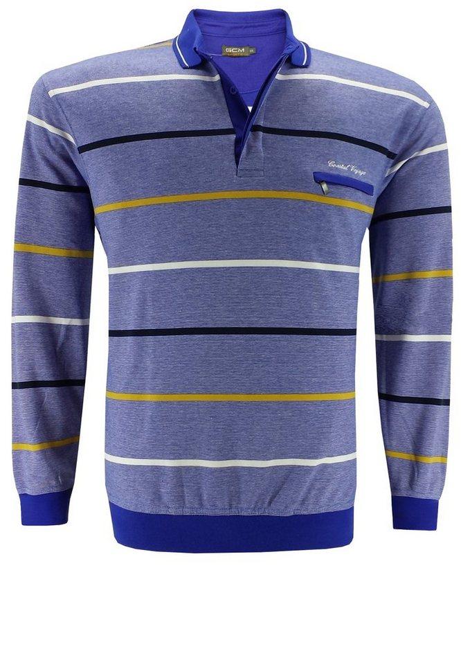 GCM Poloshirt in Blau