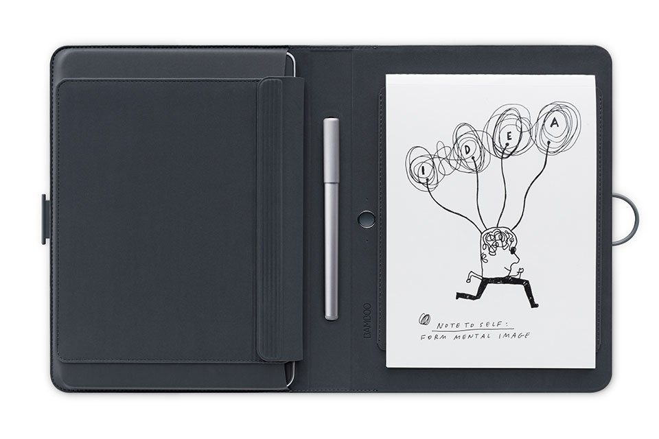 Wacom Stift-/Touchtablet »BAMBOO SPARK Smart Folio mit Snap-fit«