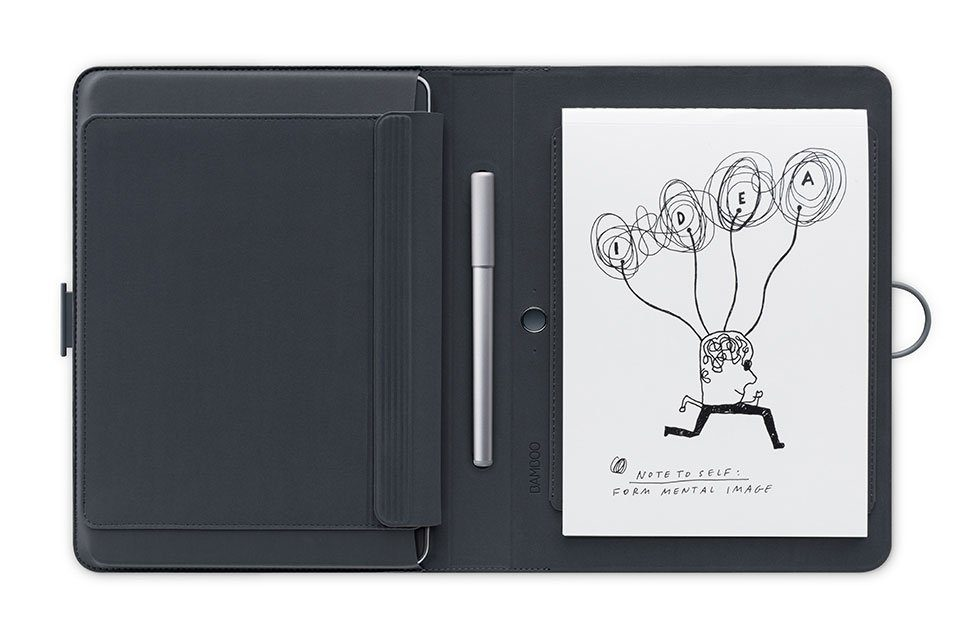 Wacom SmartPad »BAMBOO SPARK Smart Folio mit Snap-fit«