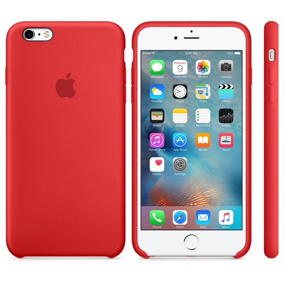 Apple Case »iPhone 6s Plus Silikon Case Rot«
