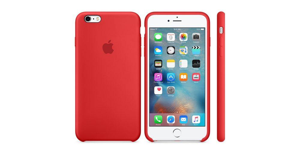 Apple Case »iPhone 6s Plus Silikon Case Rot«