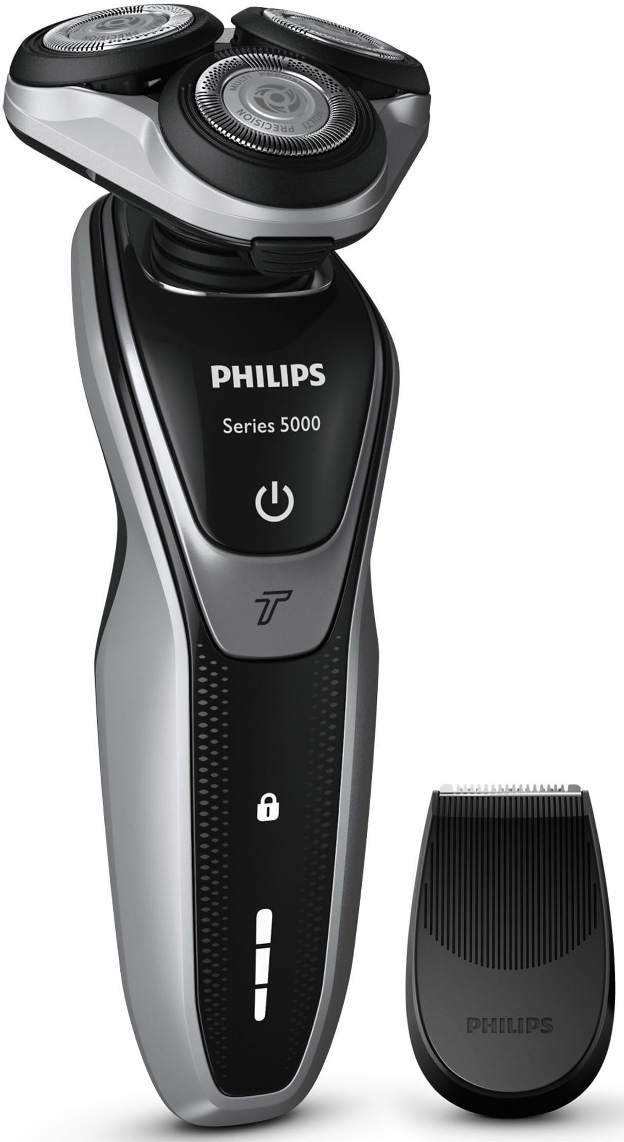 Philips Rasierer Series 5000 S5320/06, mit Turbo Modus und Präzisionstrimmer