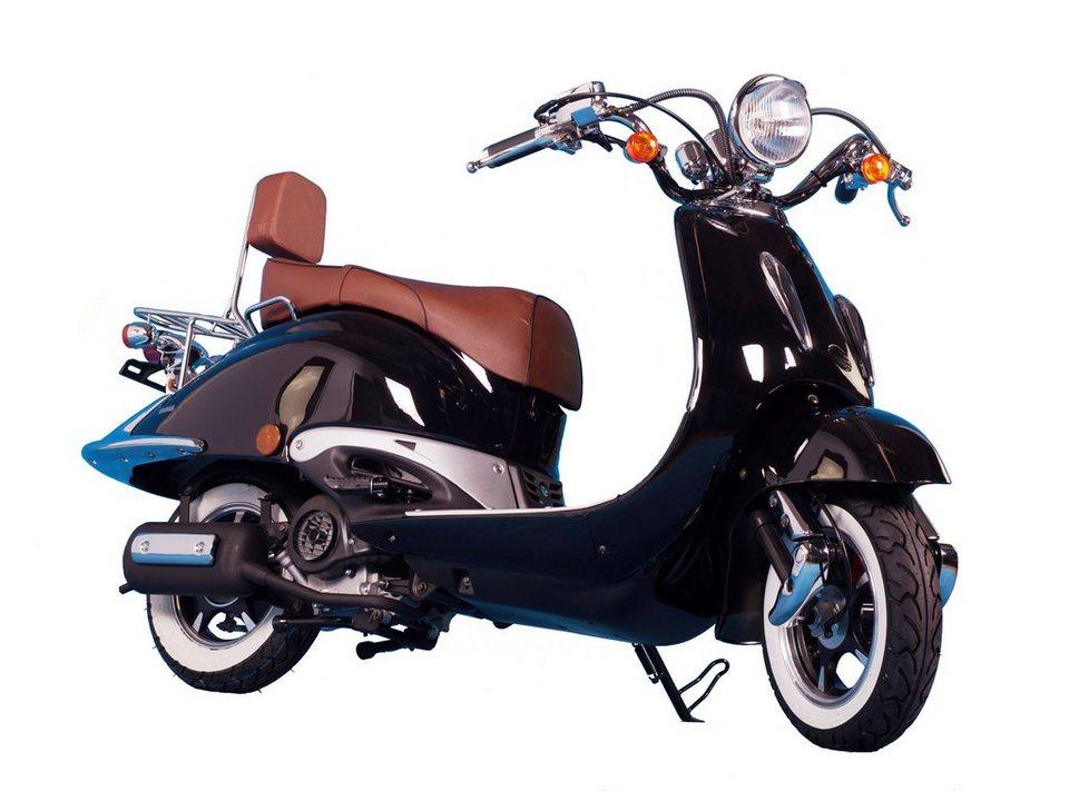 Gt Union Motorroller »Strada«, 125 ccm, 85 km/h in schwarz