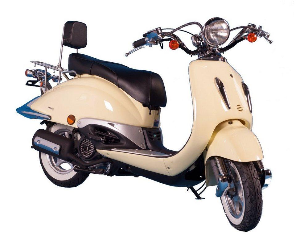 Gt Union Motorroller »Strada«, 125 ccm, 85 km/h in gelb