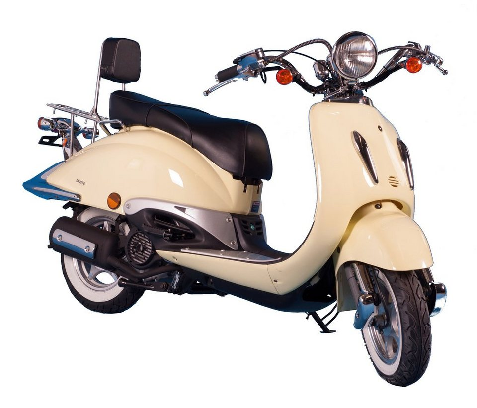 Motorroller »Strada«, 50 ccm, 45 km/h in gelb