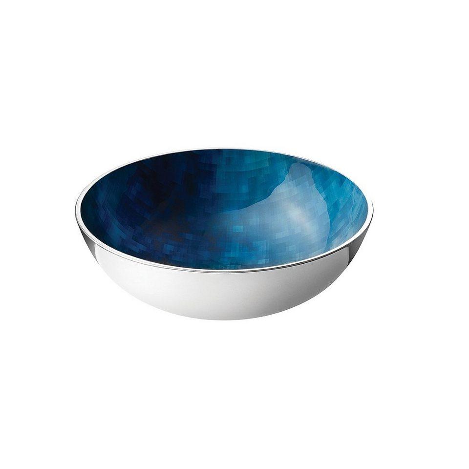 STELTON Stelton Stockholm Schale klein, 20 cm in blau-grün