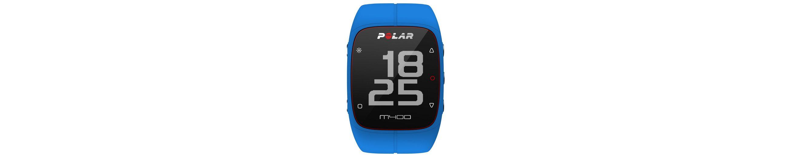 Polar GPS Sportuhr, »M400 Blue HR«, inkl. Brustgurt