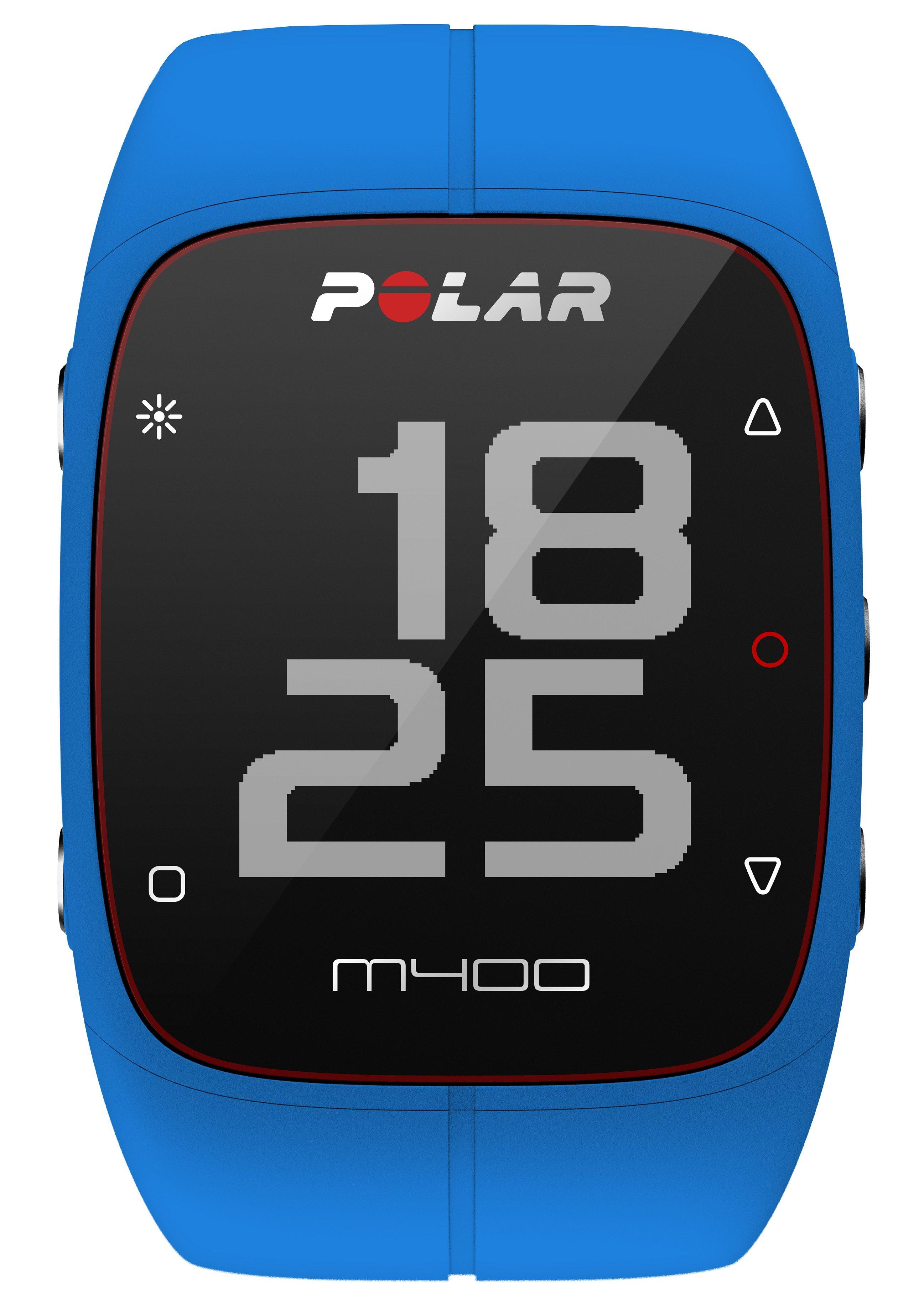 Polar GPS Sportuhr, »M400 Blue«