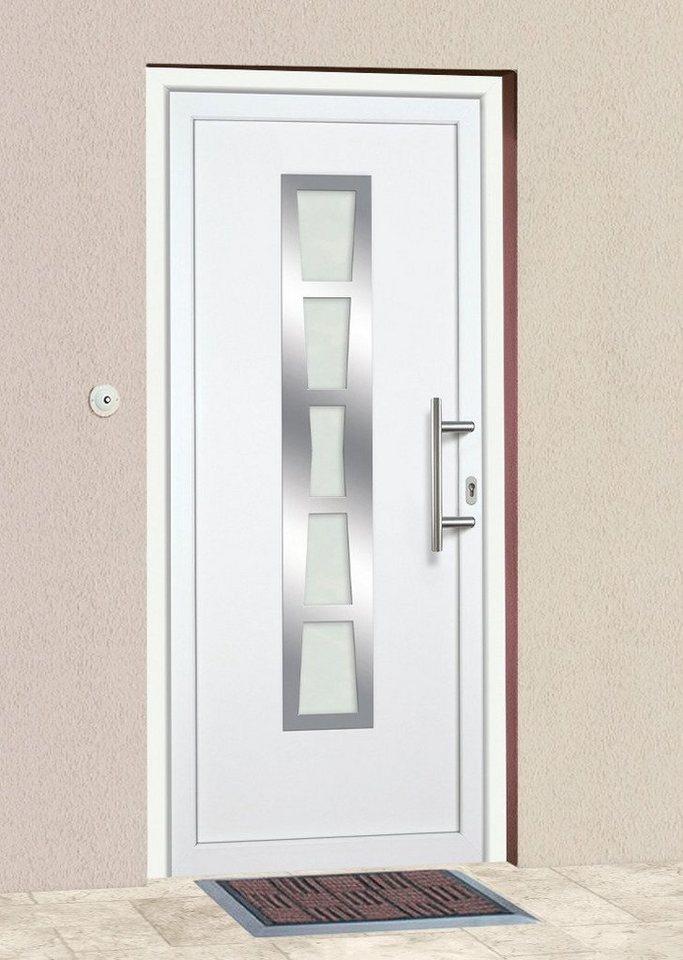 Kunststoff-Haustür »K640« BxH: 98x198 cm in weiß