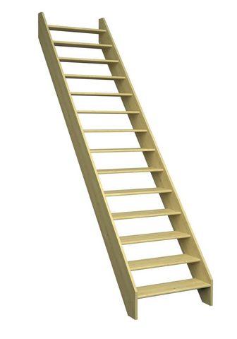 DOLLE Kompaktiški laiptai »Paris« Fichte su ...