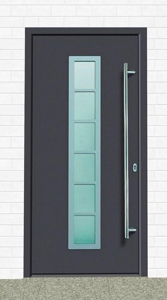 KM MEETH ZAUN GMBH Aluminium-Haustür »A04«, BxH: 98x198 cm, anthrazit, in 2  Varianten online kaufen   OTTO