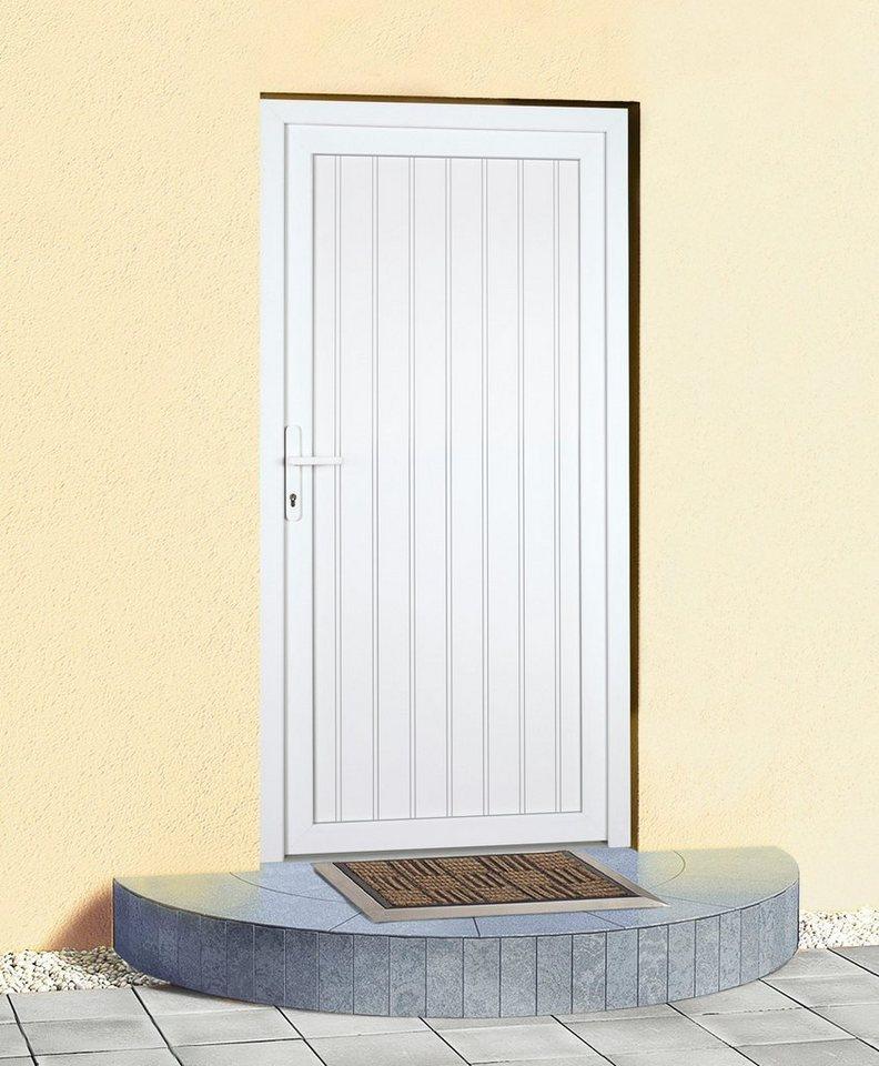 Mehrzweck-Haustür »K608« BxH: 88 x 188 cm, weiß in weiß