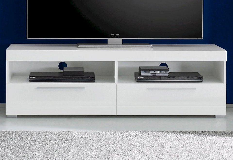 Lowboard, Breite 142 cm in weiß