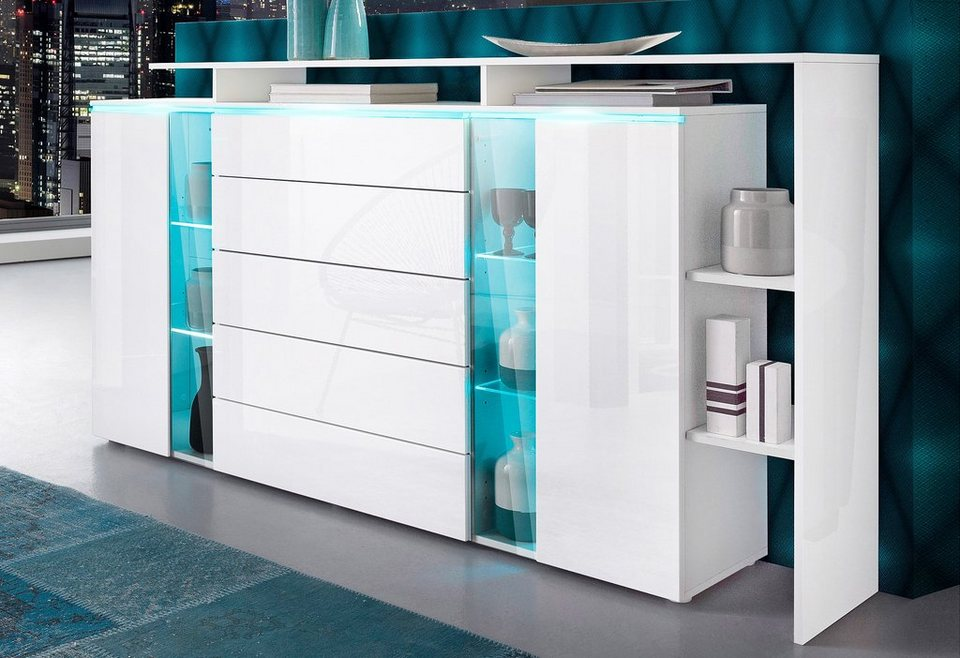 highboard breite 187 cm online kaufen otto. Black Bedroom Furniture Sets. Home Design Ideas