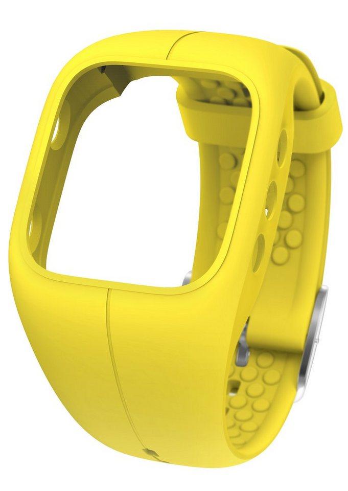 Polar Armband zum Wechseln, »A300 Mellow Yellow « in gelb