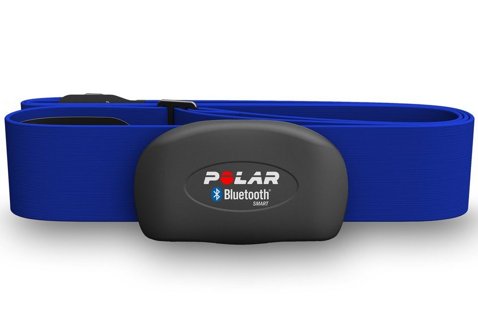 Polar Brustgurt, M-XXL, »Herzfrequenz-Sensoren Set H7 Blue« in blau