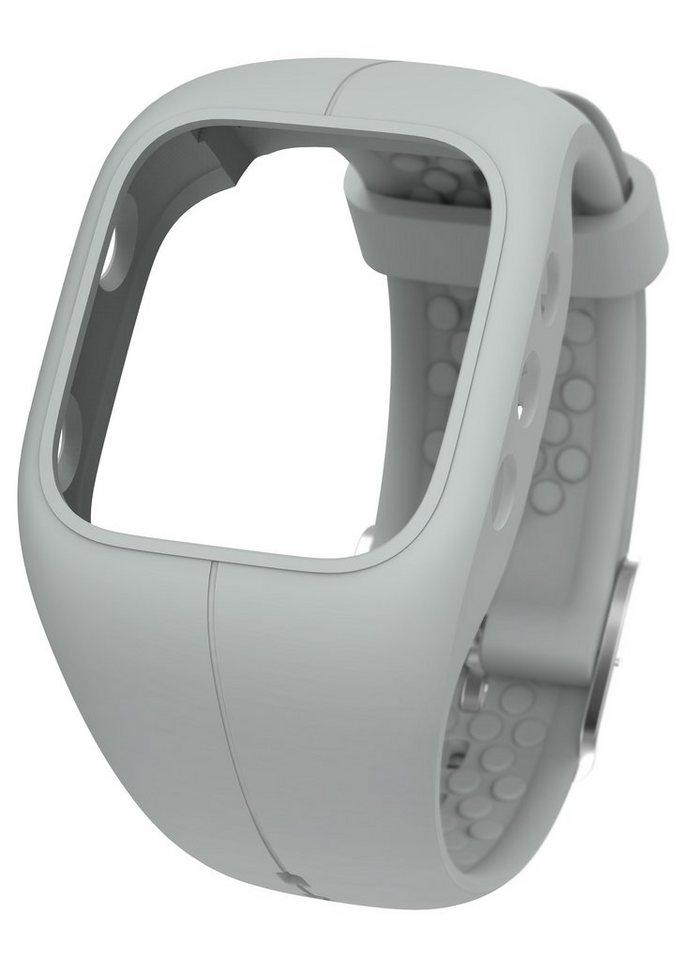 Polar Armband zum Wechseln, »A300 Storm Grey« in grau