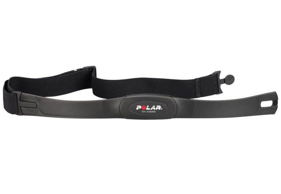 Polar Brustgurt, »Herzfrequenz-Sensoren Set T31 codiert« in schwarz