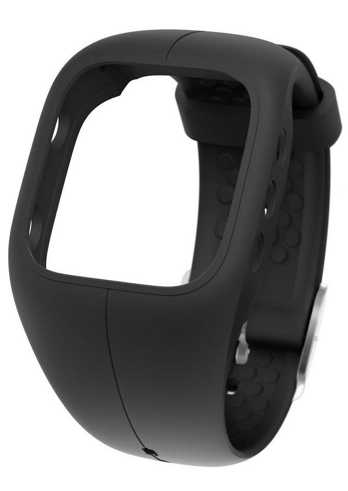 Polar Armband zum Wechseln, »A300 Charcoal Black« in schwarz