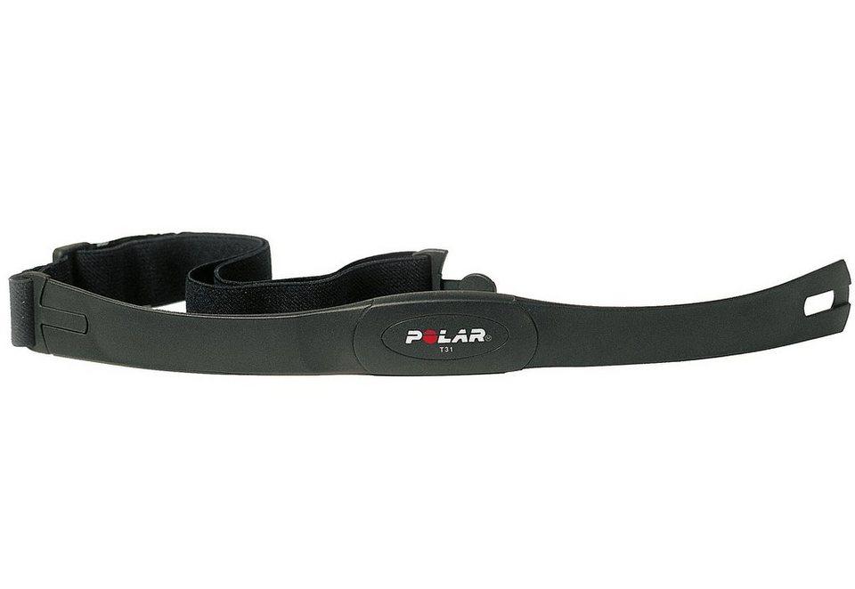 Polar Brustgurt, »Herzfrequenz-Sensoren Set T31 uncodiert« in schwarz