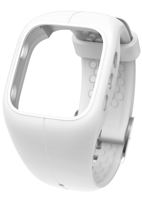 Polar Fitness-Tracker »A300 Powder White«