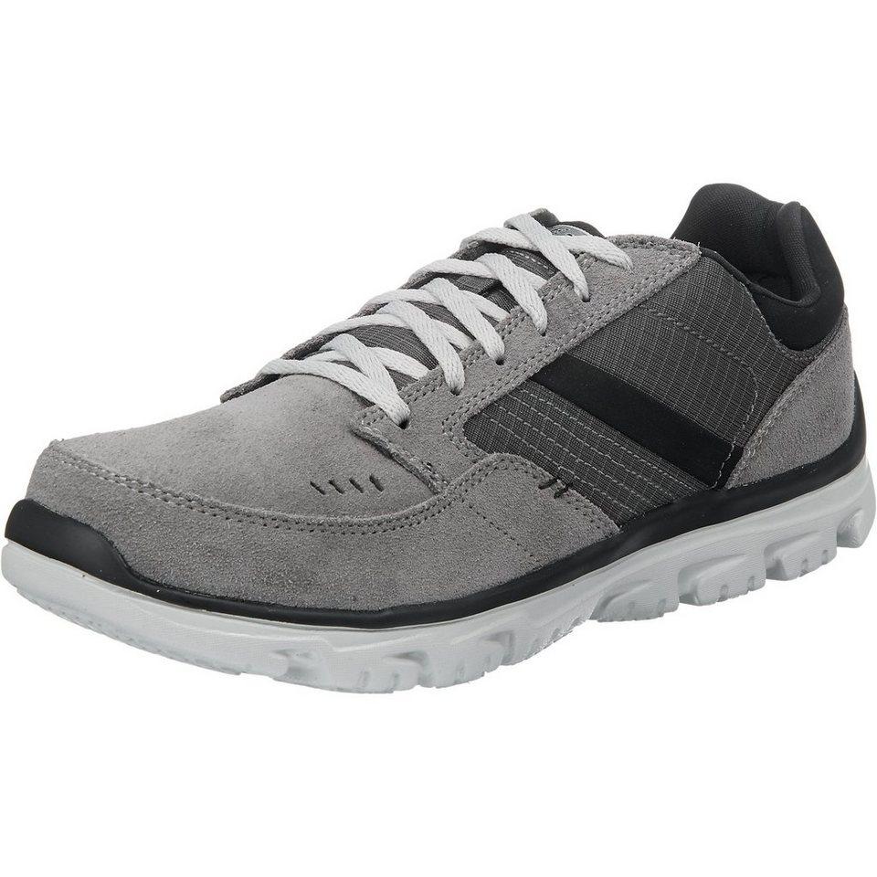 SKECHERS L-Fit Comfort Life Freizeit Schuhe in grau
