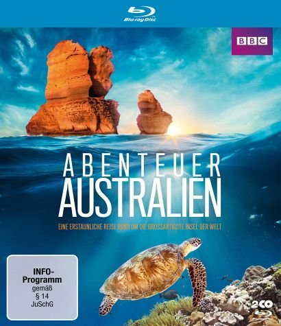 Blu-ray »Abenteuer Australien - Eine erstaunliche Reise...«