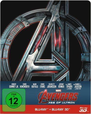 Blu-ray »Avengers: Age of Ultron (Blu-ray 3D, Steelbook)«