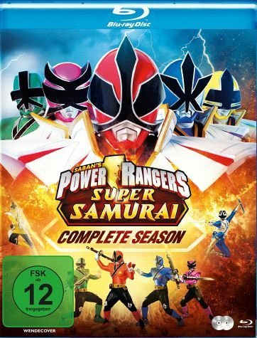 Blu-ray »Power Rangers Super Samurai - Complete Season...«